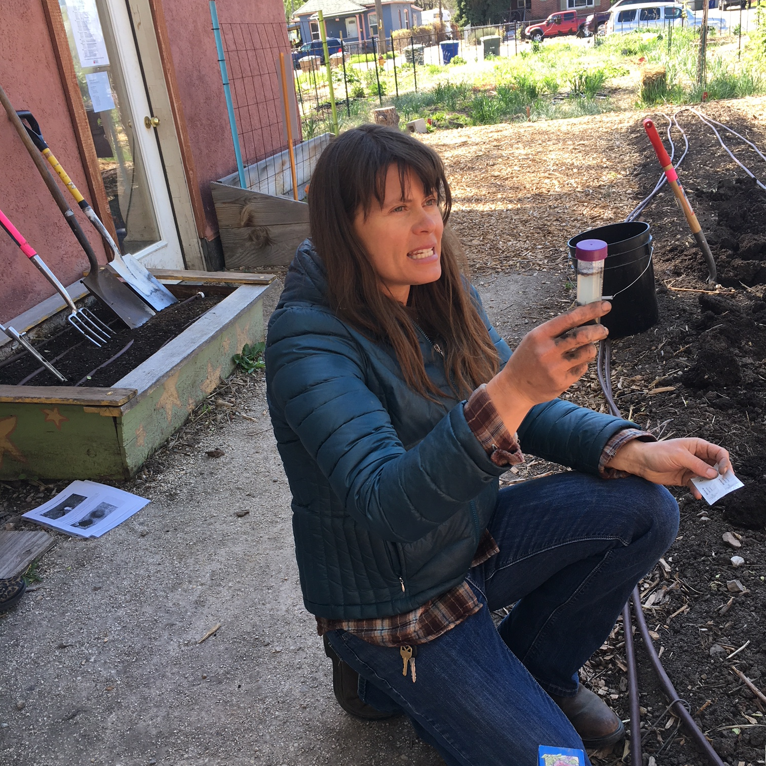 Soil Basics with Celia Bell