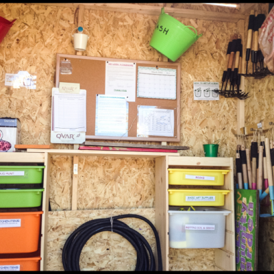 Re-thinking the shed