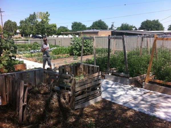 Vegetable Mining Operation Community Garden